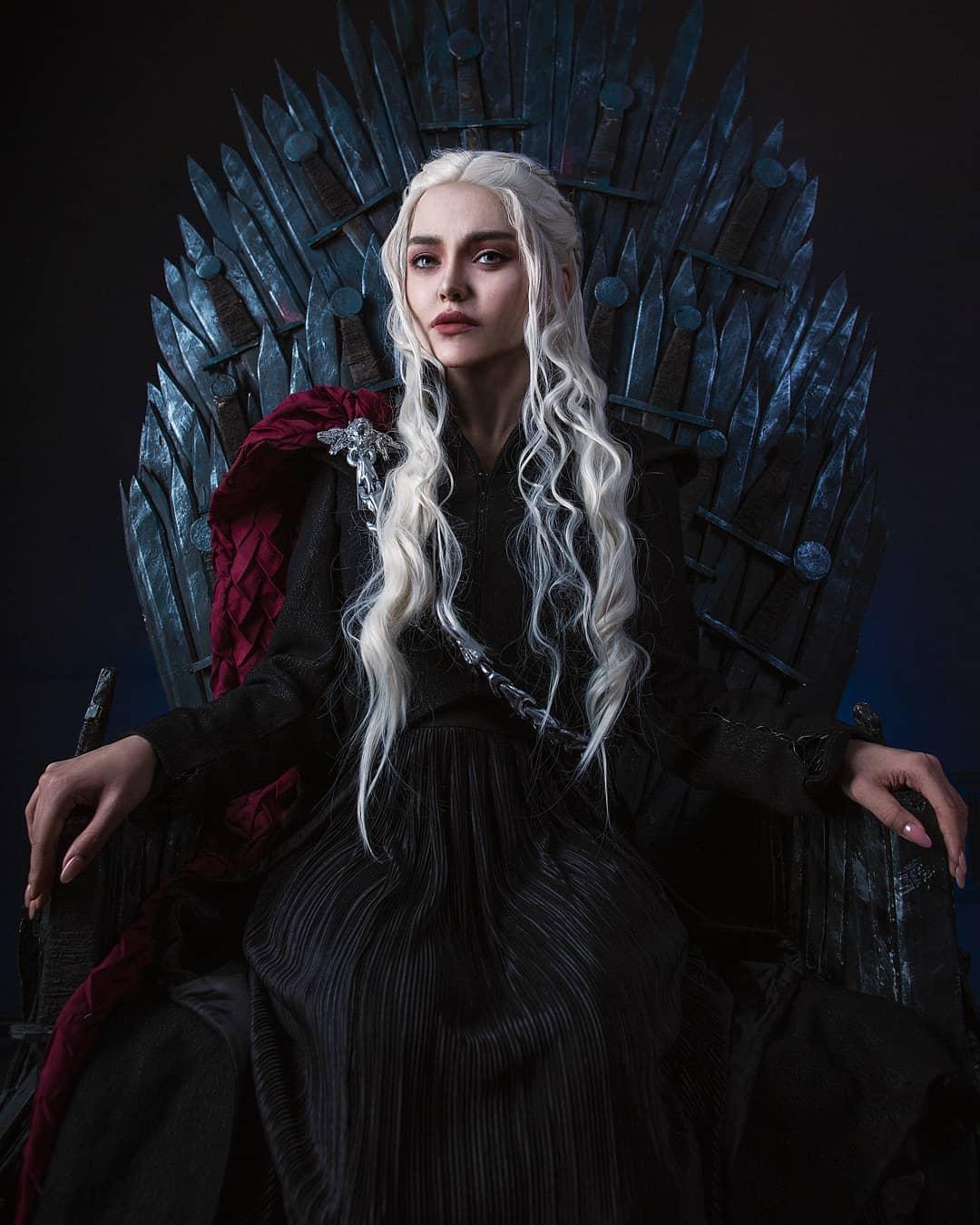 Daenerys Targaryen cosplay by Kalinka Fox