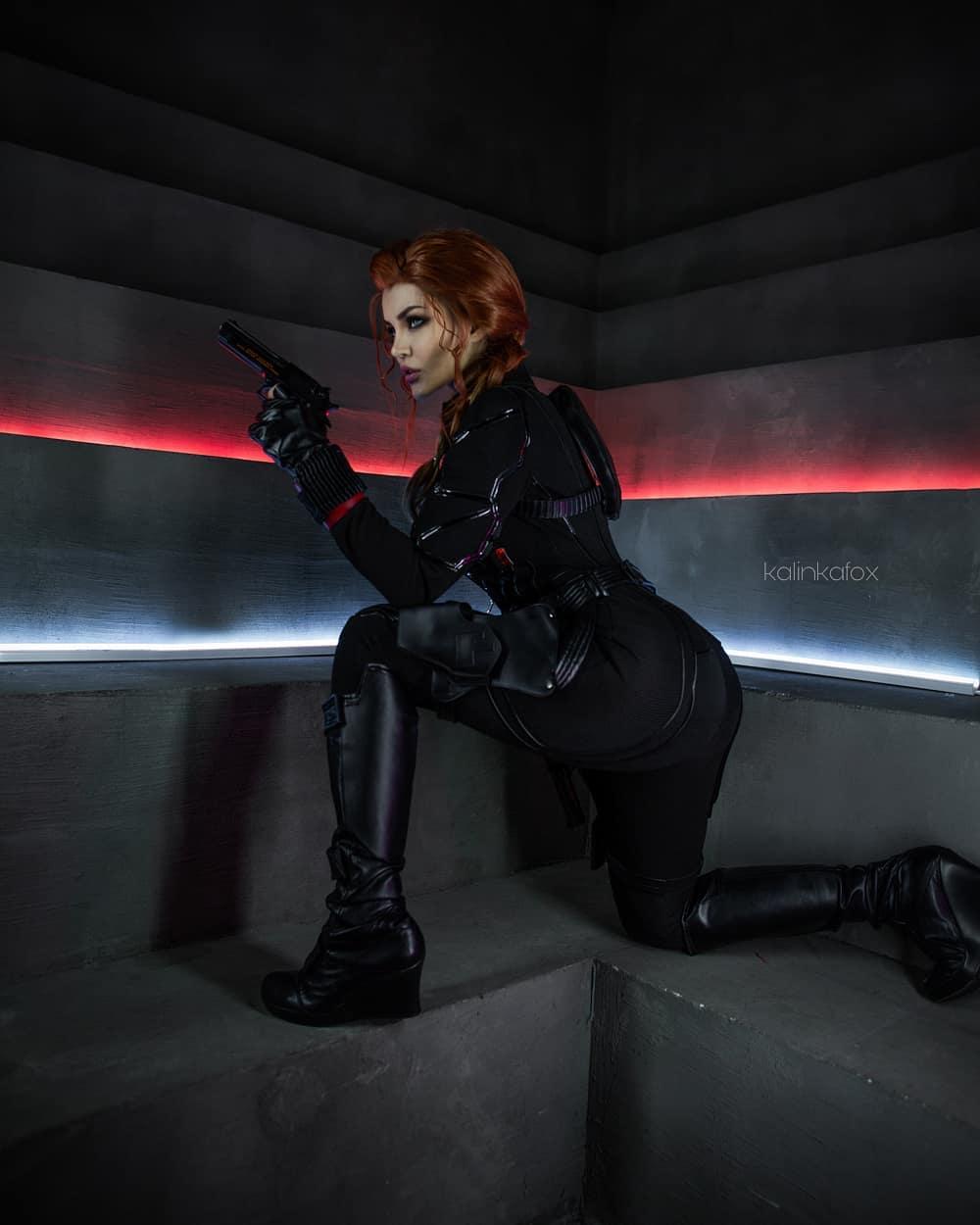 Black Widow cosplay by Kalinka Fox