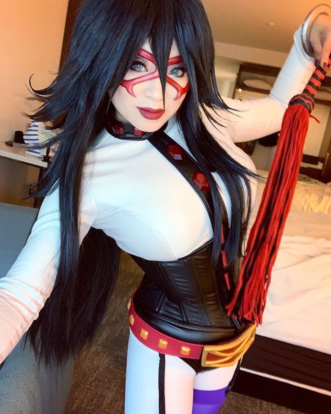 Midnight Sensei cosplay by yaya han cosplayer