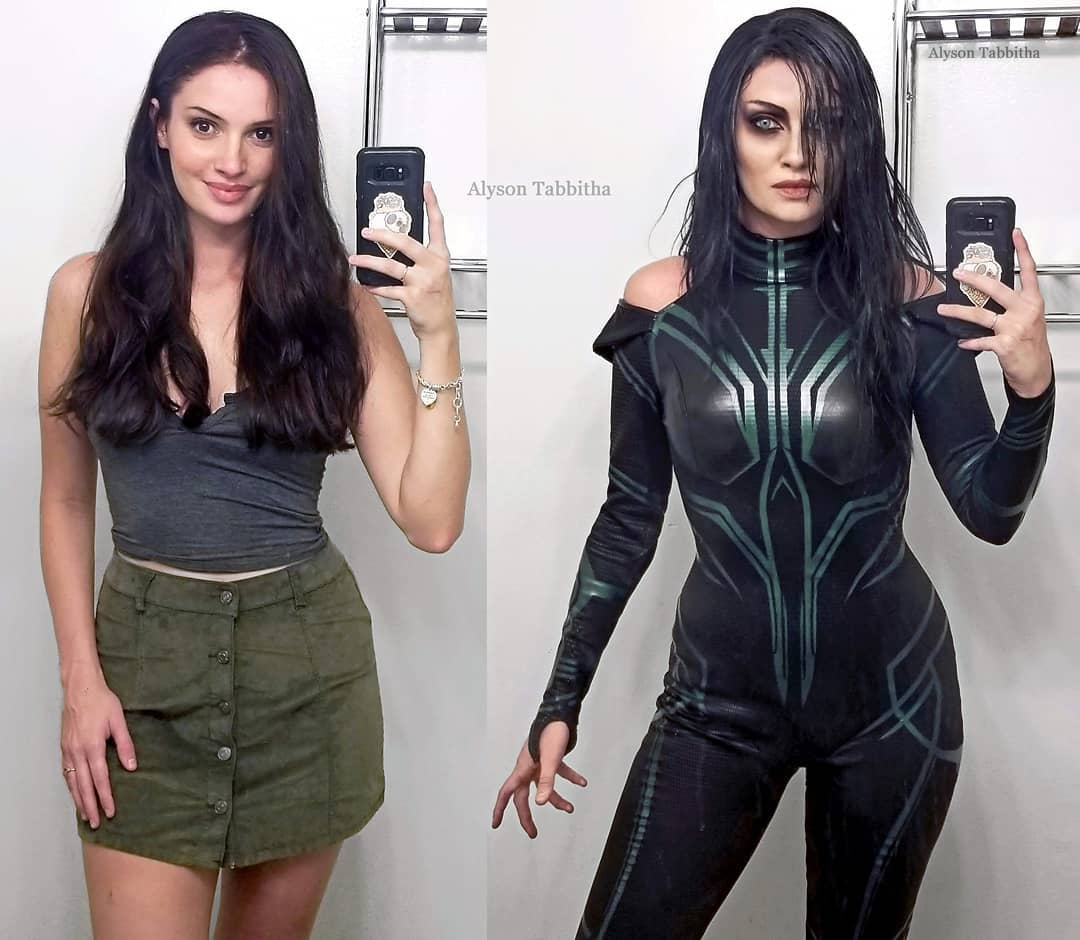 hela cosplay by Alyson Tabbitha