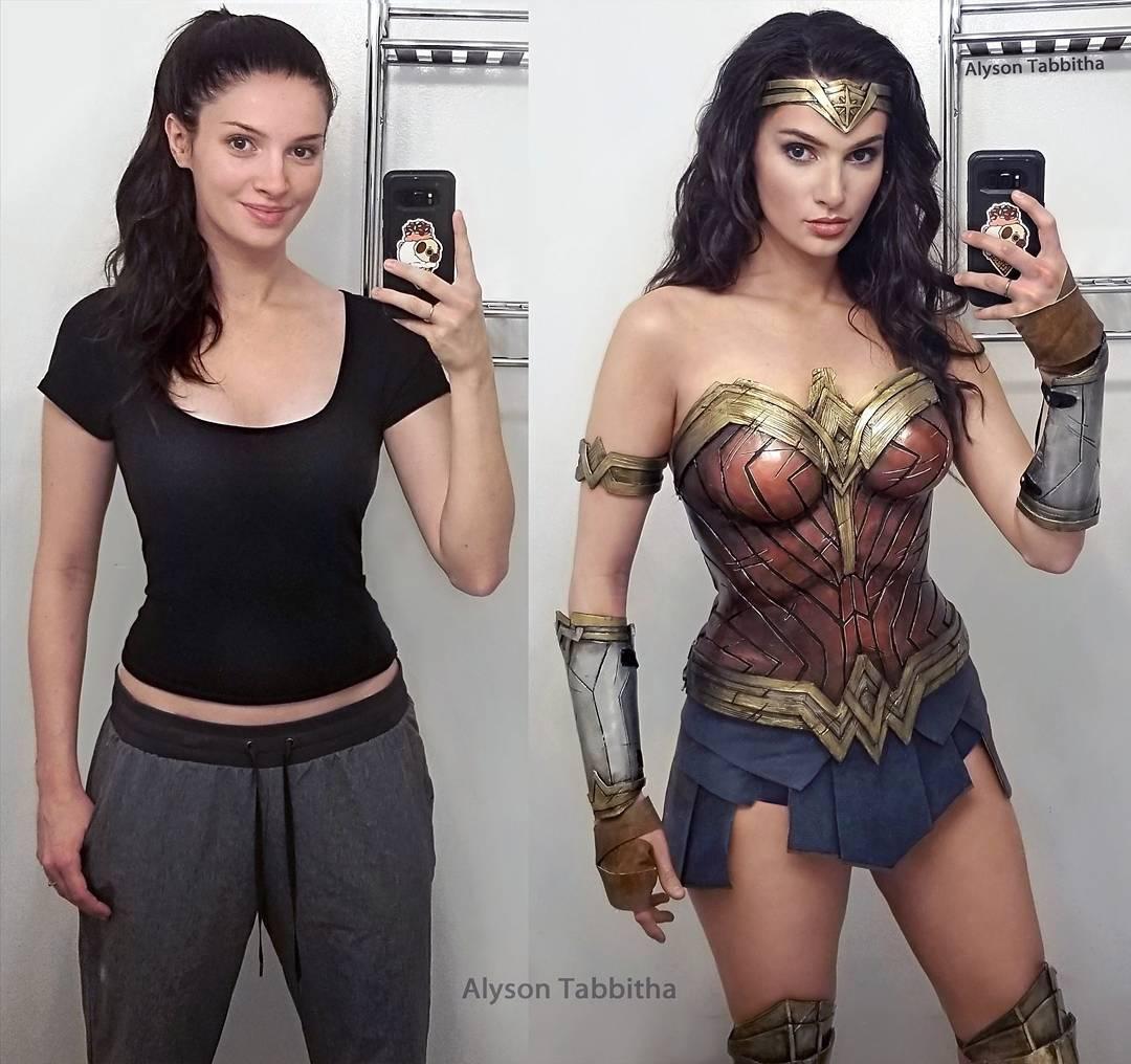 Wonder Woman cosplay by Alyson Tabbitha