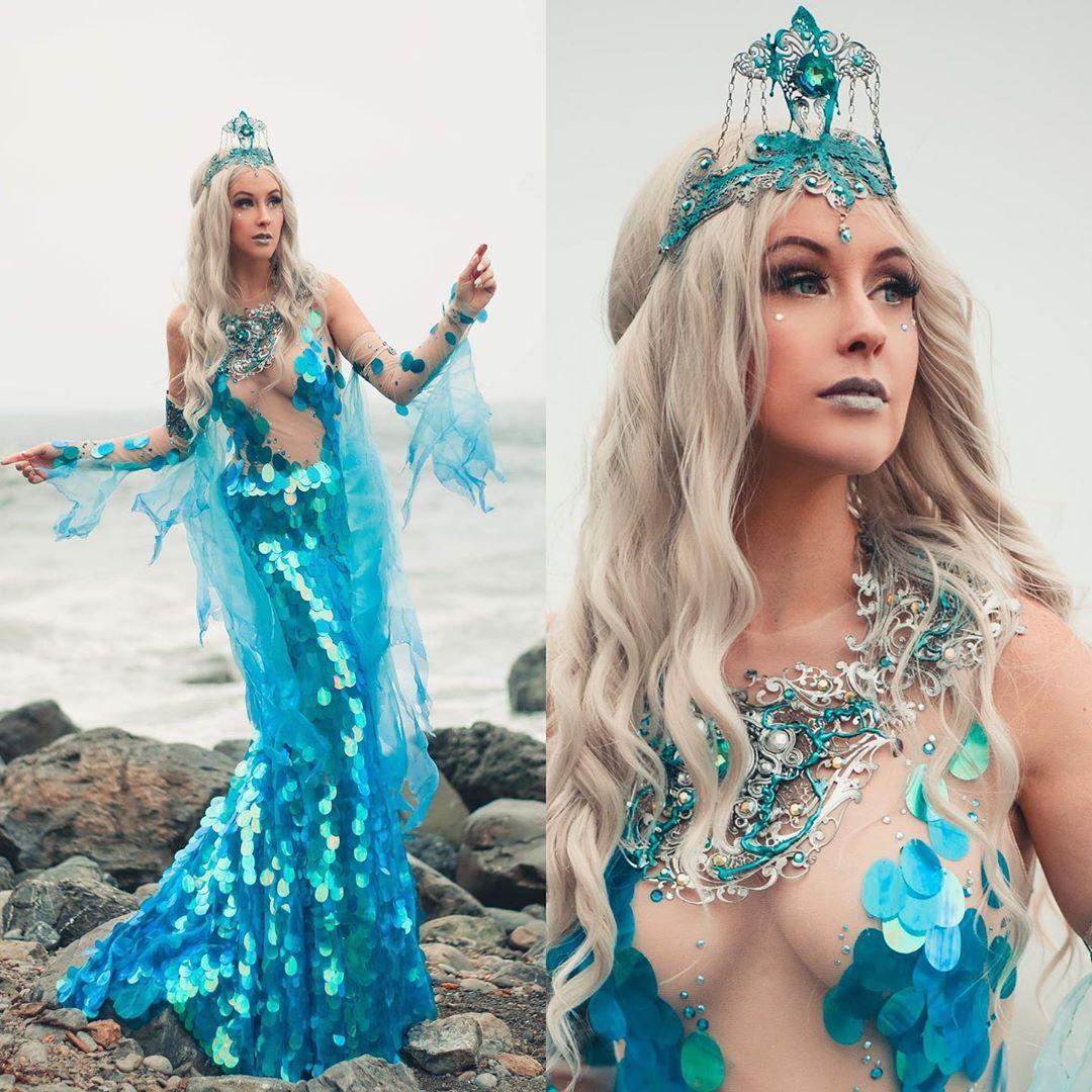 Sea Goddess cosplay by Meg Turney