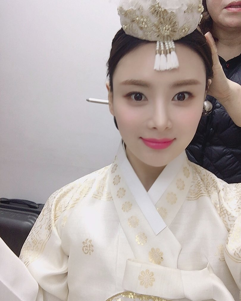 Han Ji sung south korean actress