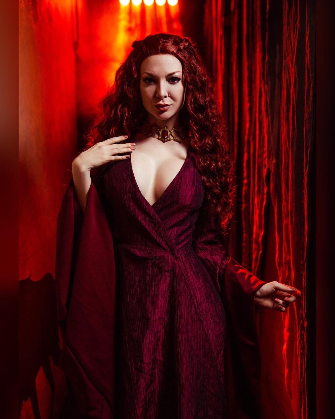 Melisandre cosplay by Ashlynne Dae
