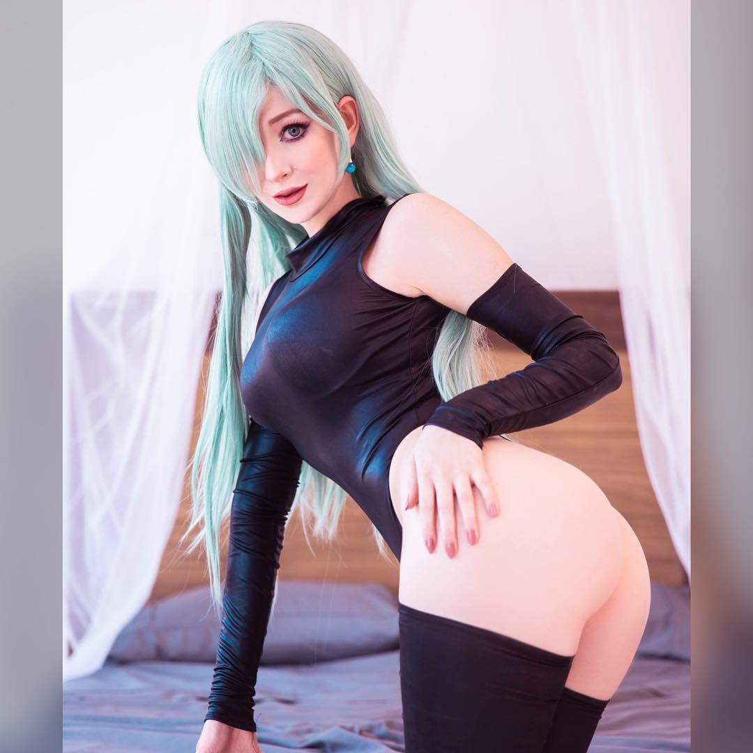 Elizabeth Liones Hot cosplay by Ashlynne Dae