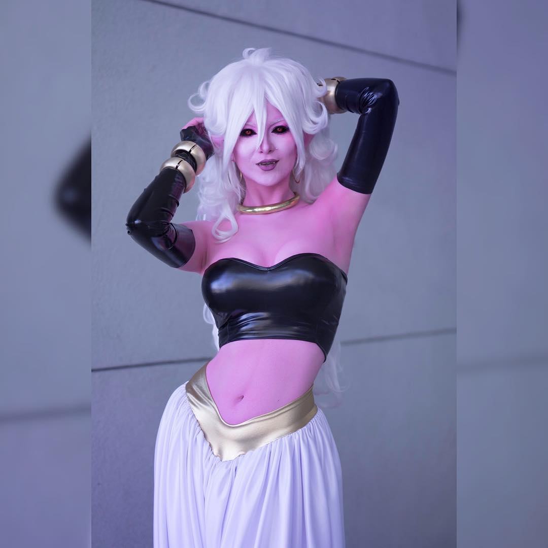 Android 21 cosplay by Ashlynne Dae