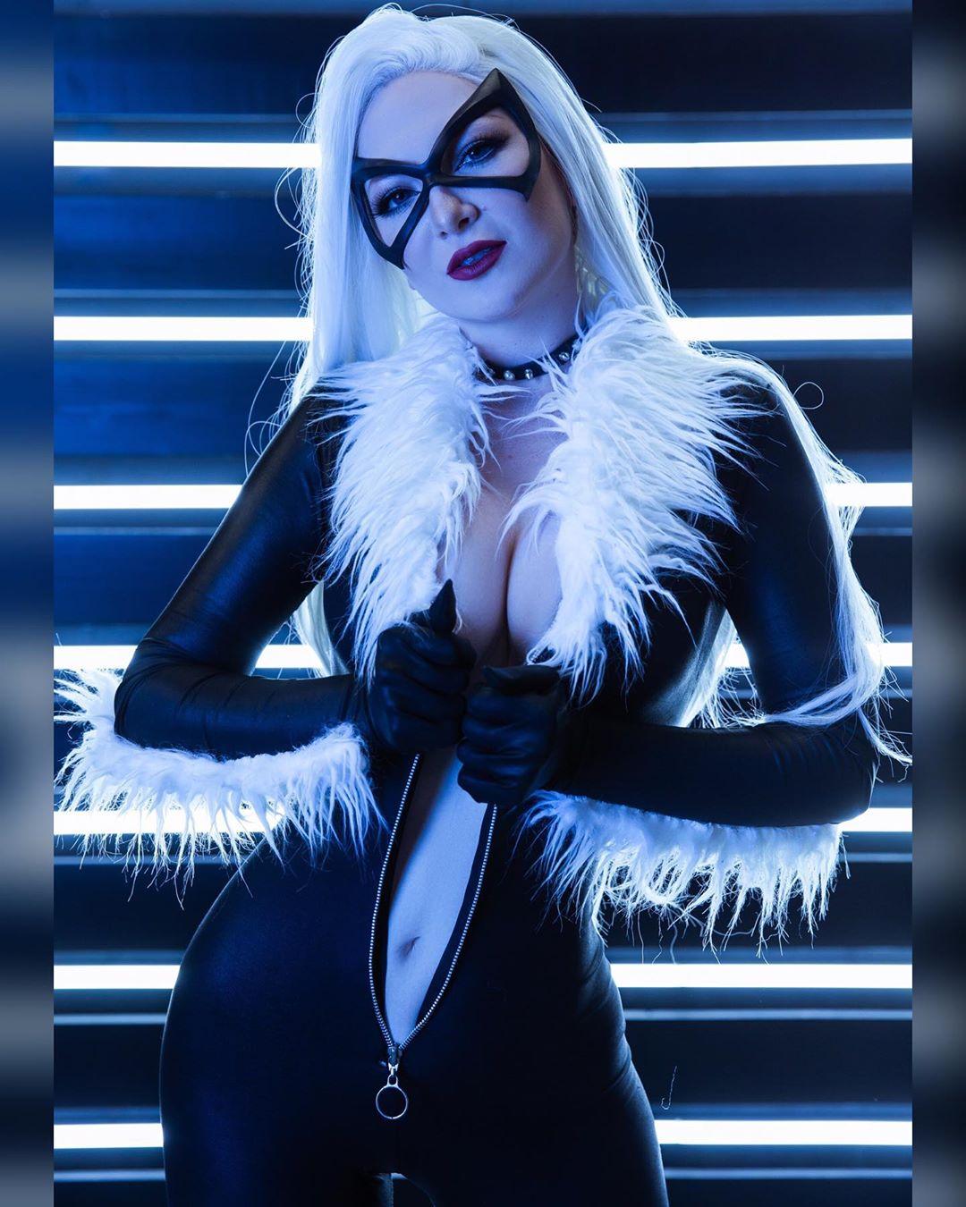 Felicia Hardy BlackCat cosplay by Ashlynne Dae
