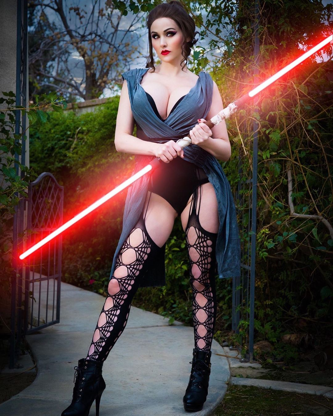 sith rey cosplay by Angie Griffin